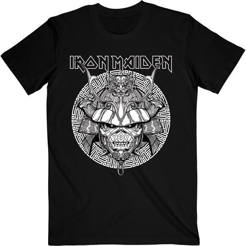 Tricou Iron Maiden Samurai Graphic White