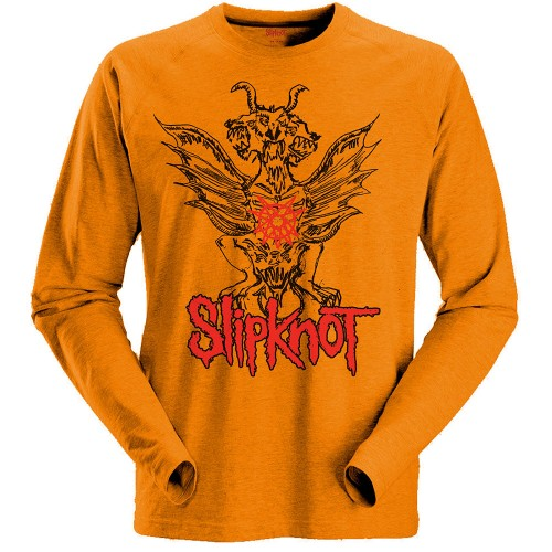 Tricou Maneca Lunga Slipknot Winged Devil
