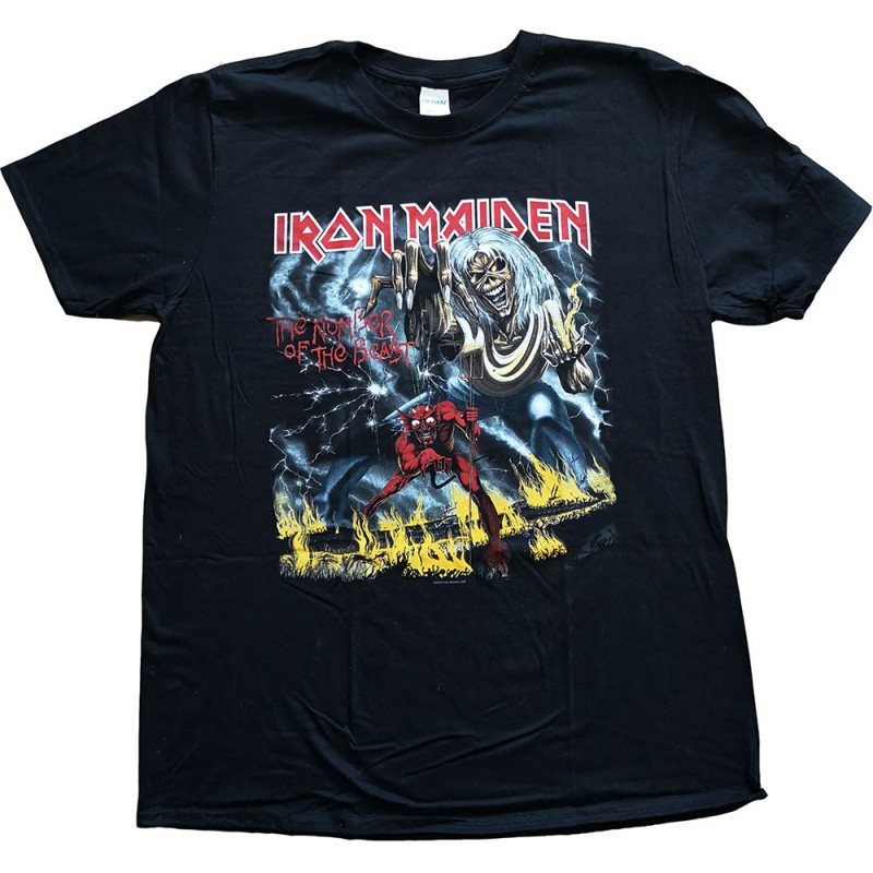 Tricou Iron Maiden Number of the Beast
