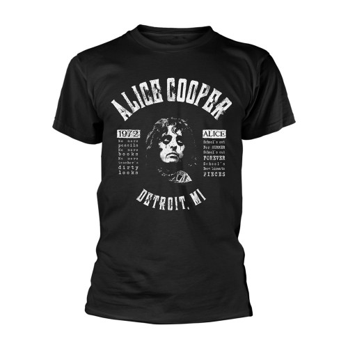 Tricou Alice Cooper School's Out Lyrics