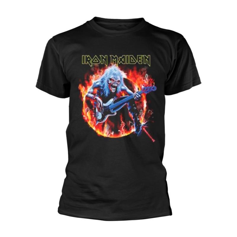 Tricou Iron Maiden Fear Live Flames