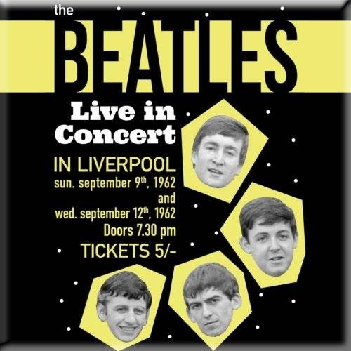 Magnet The Beatles Live in Concert
