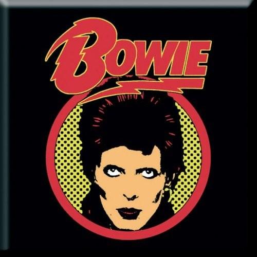 Magnet David Bowie Flash Logo