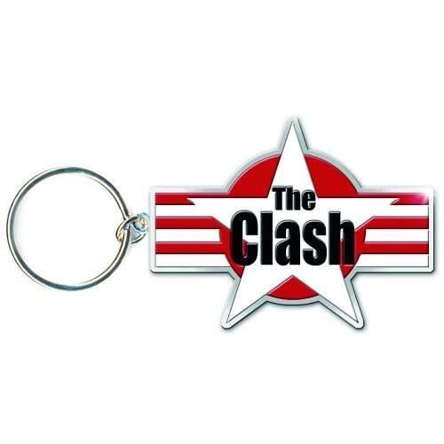 Breloc The Clash Stars & Stripes