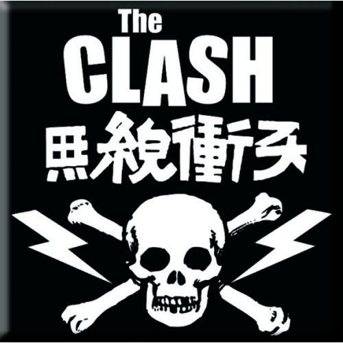 Magnet The Clash Skull & Crossbones