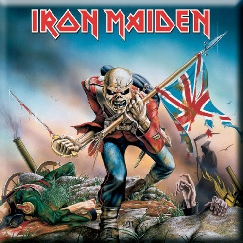 Magnet Iron Maiden The Trooper
