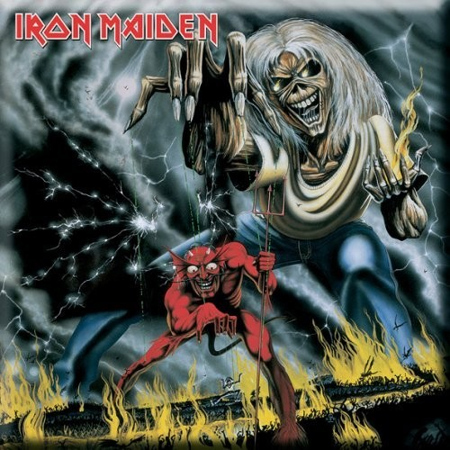 Magnet Iron Maiden Numbers of the Beast