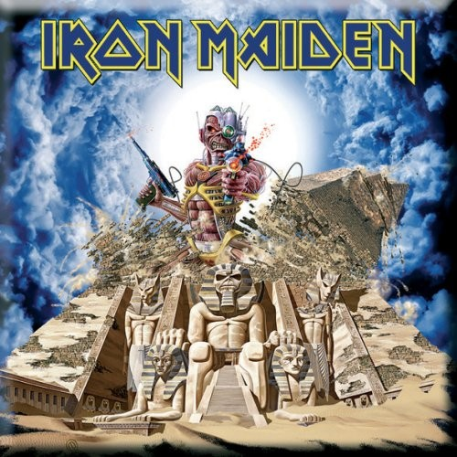 Magnet Iron Maiden Somewhere Back in Time