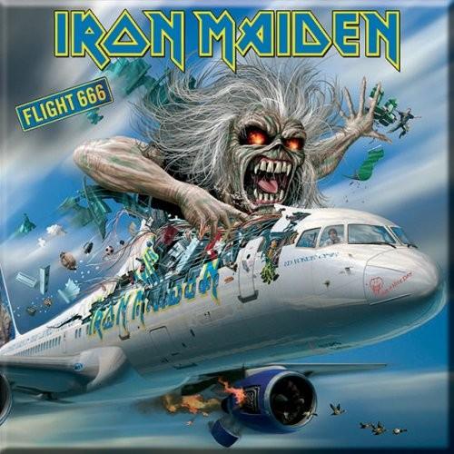 Magnet Iron Maiden Flight 666