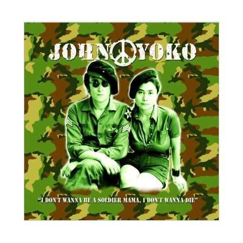 Felicitare John Lennon John & Yoko