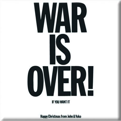 Magnet John Lennon War is Over