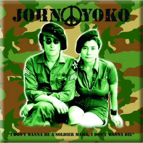 Magnet John Lennon Soldier