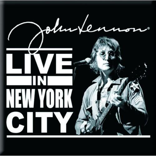 Magnet John Lennon Live in New York City