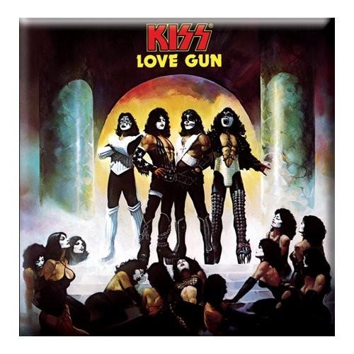 Magnet KISS Love Gun Album