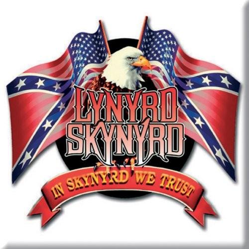 Magnet Lynyrd Skynyrd Eagle & Flags