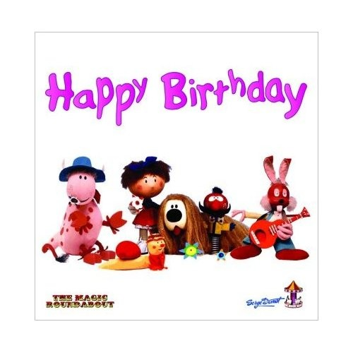 Felicitare Magic Roundabout Characters