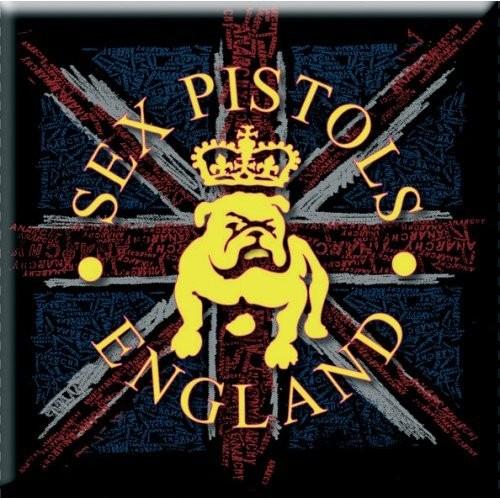 Magnet The Sex Pistols Bull Dog & Flag