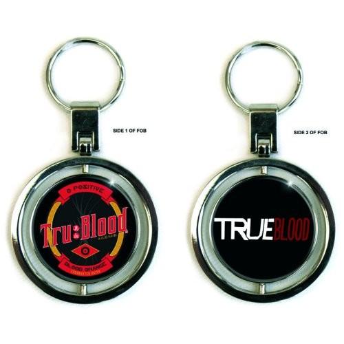 Breloc True Blood Bottle Label