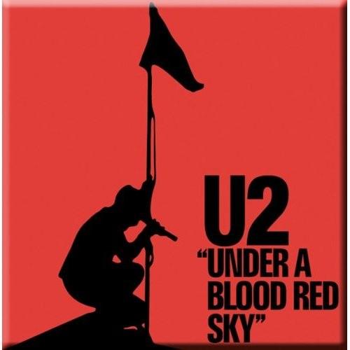 Magnet U2 Under a Blood Red Sky