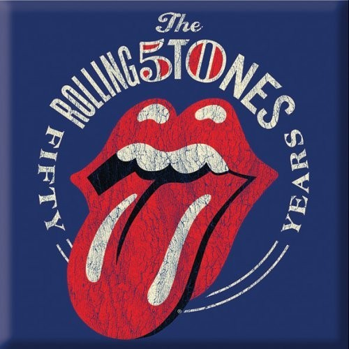 Magnet The Rolling Stones 50th Anniversary Vintage