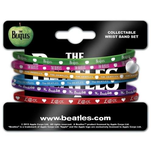 Set Brățări de Silicon The Beatles Apple Logo