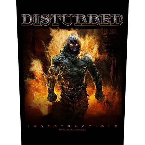 Back Patch Disturbed Indestructible
