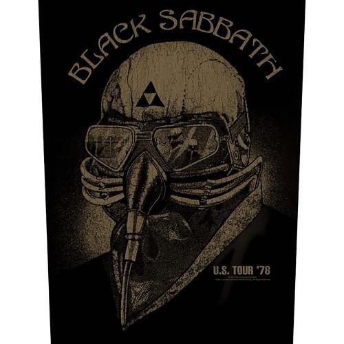 Back Patch Black Sabbath US Tour 1978