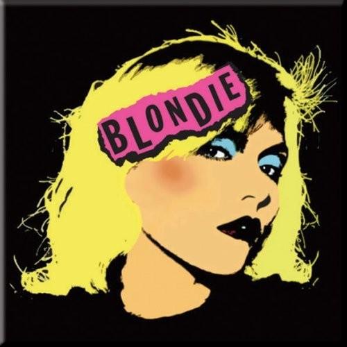 Magnet Blondie Punk Logo