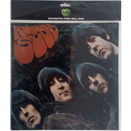 Portret Metalic The Beatles Rubber Soul