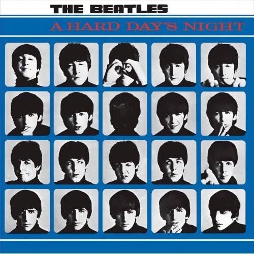 Portret Metalic The Beatles Hard Days Night