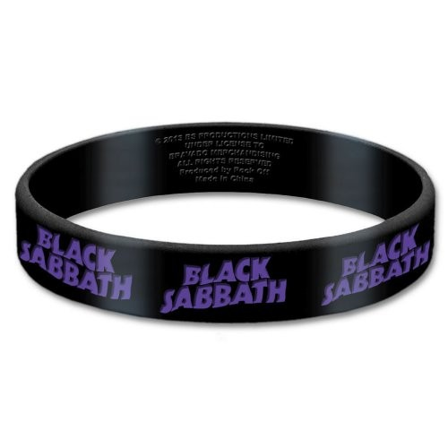 Brățară de Silicon Black Sabbath Logo