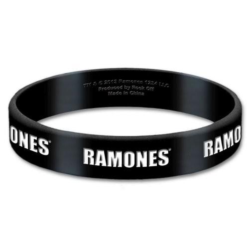 Brățară de Silicon Ramones Logo