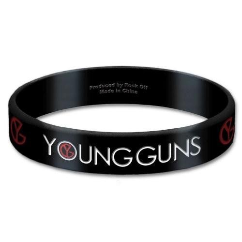 Brățară de Silicon Young Guns Logo