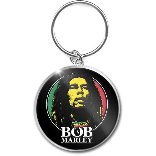 Breloc Bob Marley Logo Face