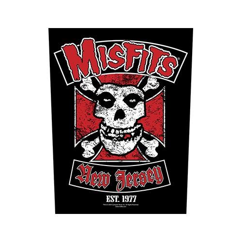 Back Patch Misfits Biker