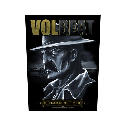 Back Patch Volbeat Outlaw Gentlemen