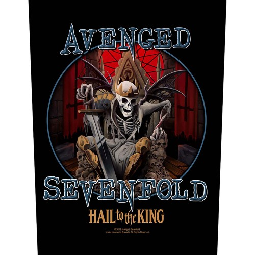 Back Patch Avenged Sevenfold Hail To The King