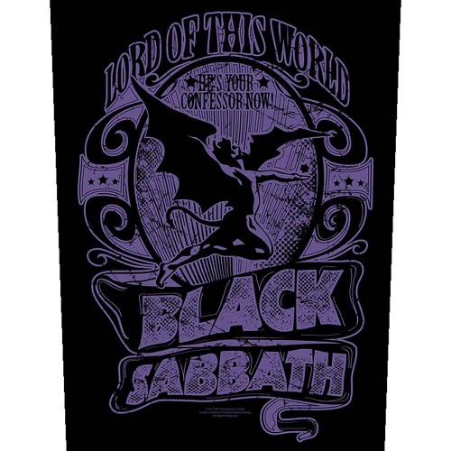 Back Patch Black Sabbath Lord Of This World