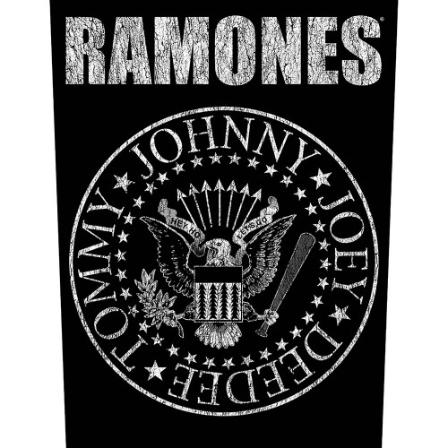 Back Patch Ramones Classic Seal