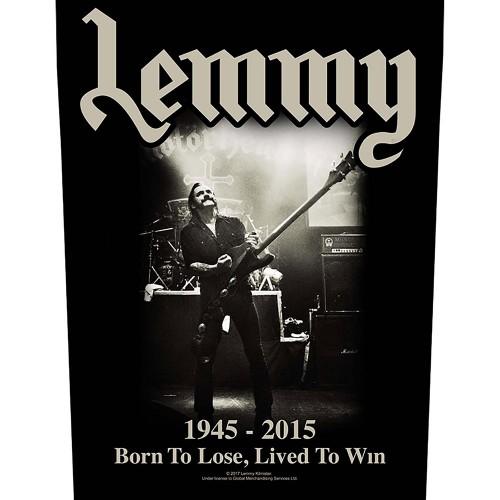Back Patch Lemmy Lived to Win