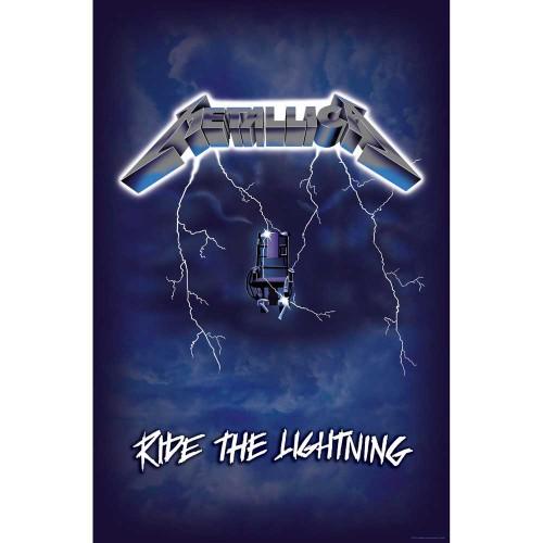 Poster Textil Metallica Ride the Lightning