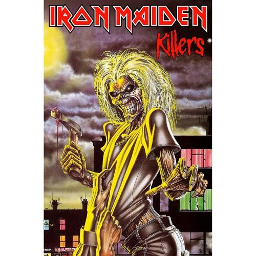 Poster Textil Iron Maiden Killers