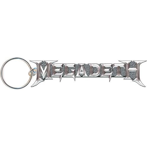 Breloc Megadeth Grey Logo