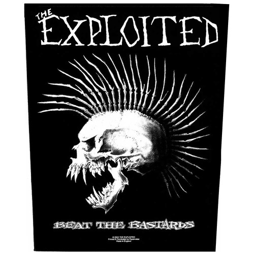 Back Patch The Exploited Beat the Bastards