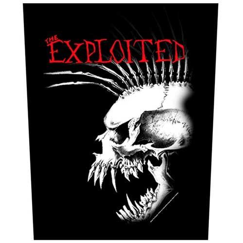 Back Patch The Exploited Bastard Skull