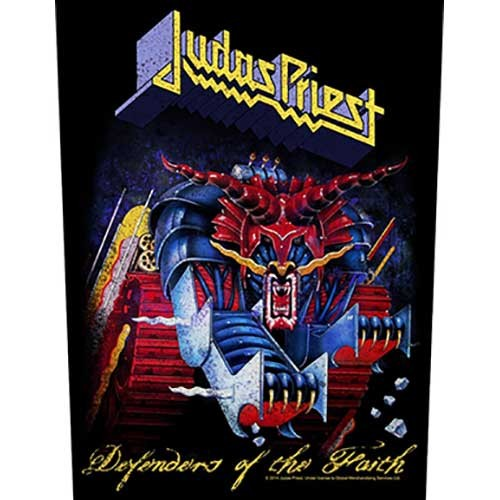 Back Patch Judas Priest Defenders of the Faith