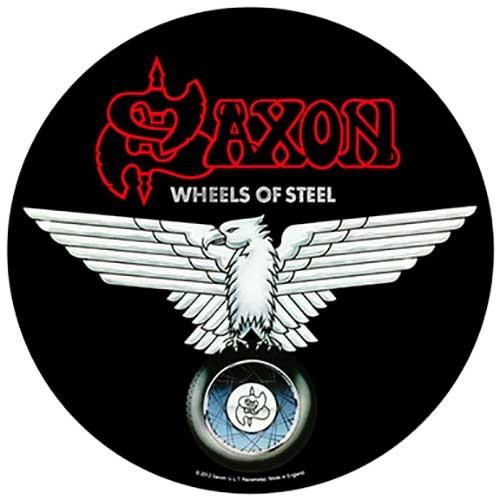Back Patch Saxon Wheels of Steel