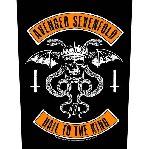 Back Patch Avenged Sevenfold Biker