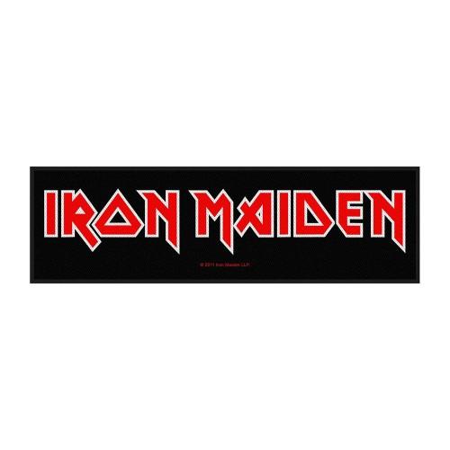 Patch Super Strip Iron Maiden Logo