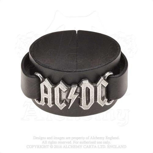 Brățară de Piele AC/DC Logo